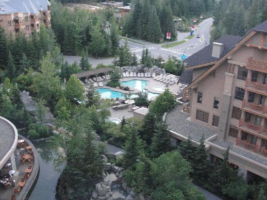 Four Seasons Resort and Residences Whistler: view from our room