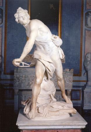 Galerie Borghèse : David (1624) by Bernini