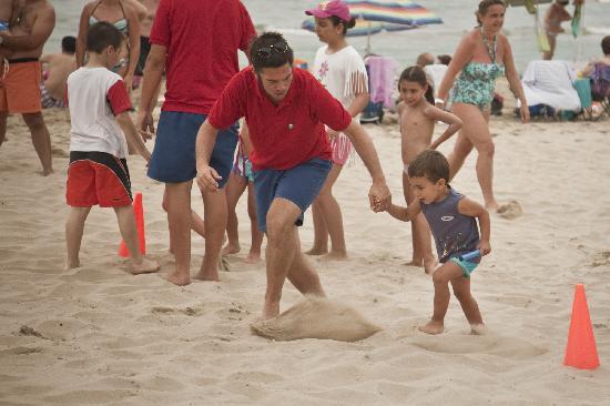 Hotel Entremares: Competición en la Playa
