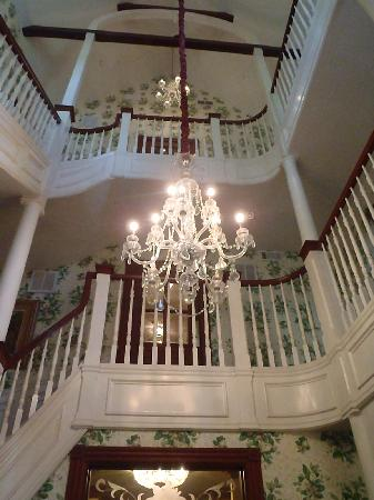 The Three Story Staircase Picture Of The Beaufort Inn
