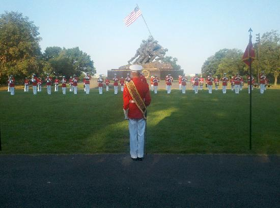 U.S. Marines Sunset Parade: The U.. Marine Drum and Bugle Corps