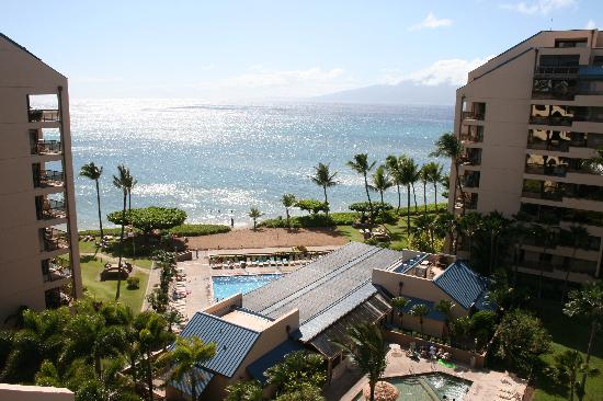 Sands of Kahana: view from balcony