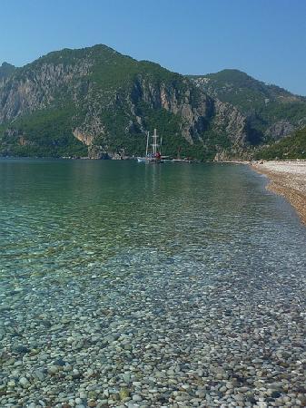 Odile Hotel: olympos beach from Cirali side
