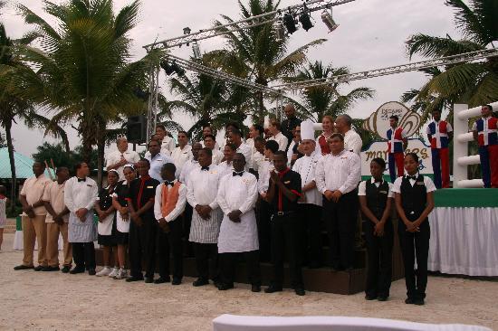Dreams La Romana Resort & Spa: Management Party