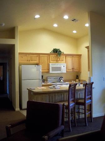 Worldmark St. George: Great kitchen, everything you need