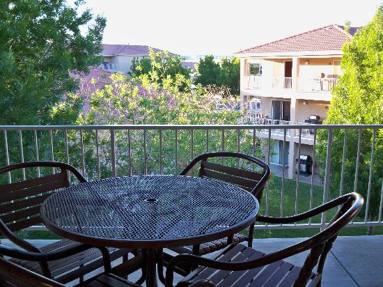Worldmark St. George: Balcony was great, had gas grill and nice view