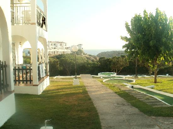 Apartamentos Roc Oasis Park: Sea view