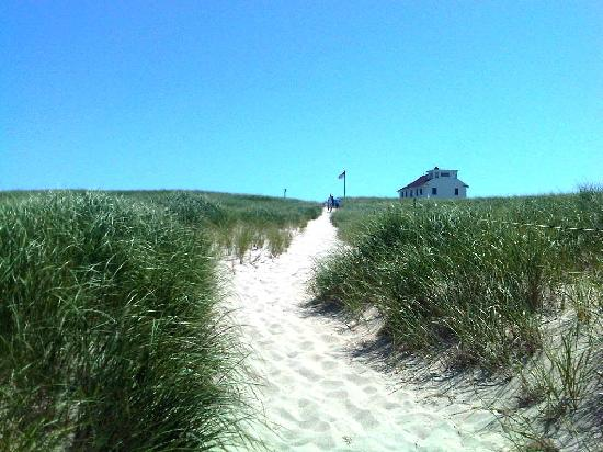 Race Point Beach: Pretty walk from the parking lot to the beach