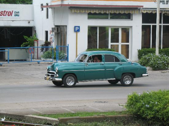 Iberostar Ensenachos : Une voiture américaine