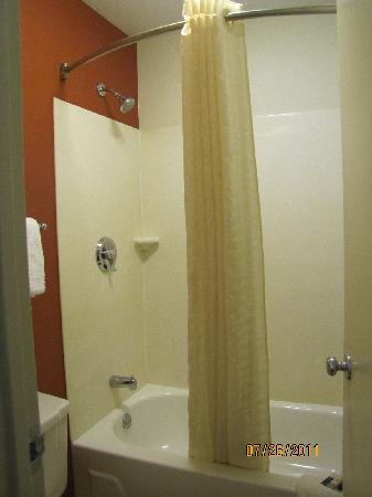 Red Roof Inn Utica: Shower