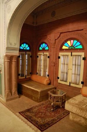 Chomu Palace Hotel: somewhere inside