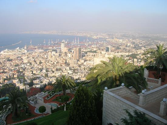 Dan Carmel Haifa: A view of Haifa