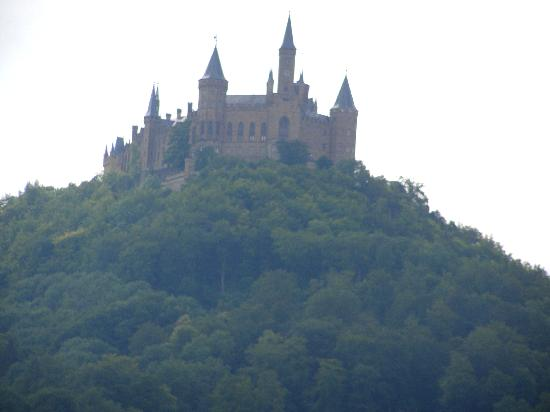 Meteora: Schloss Hohenzollern, just outside of town