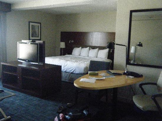 Hilton Toronto: Notre suite