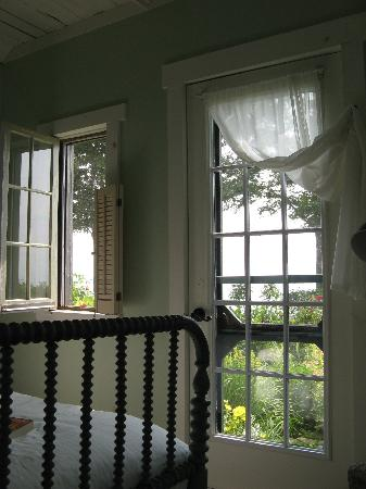 One of a Kind Bed and Breakfast: Looking out towards the lake