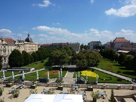 Esplanade Zagreb Hotel: View from room