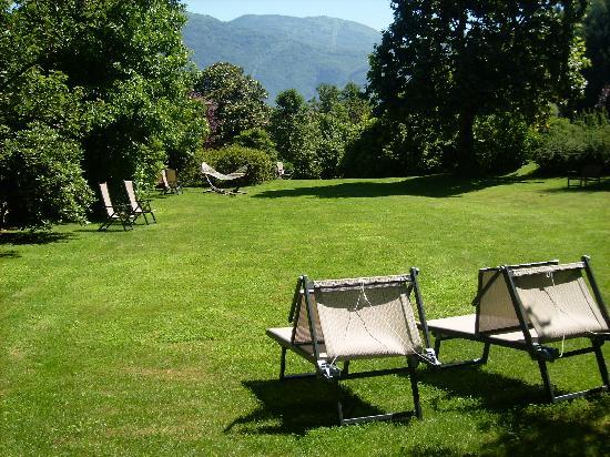 Park Hotel Villa Belvedere: Große Parkwiese