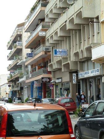 Argos, กรีซ: Typical parking option