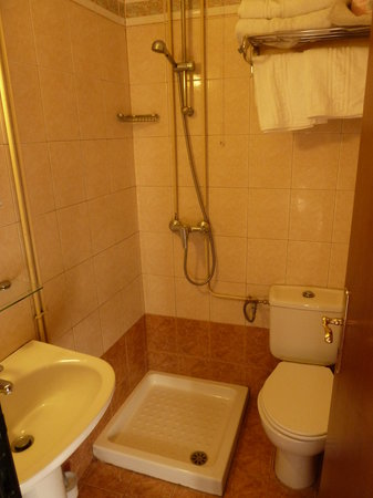 Domus Rodos Hotel: welcome to your bathroom