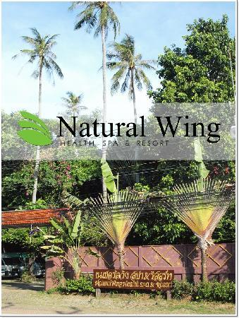 Natural Wing Health Spa & Resort: Infront of Natural Wing