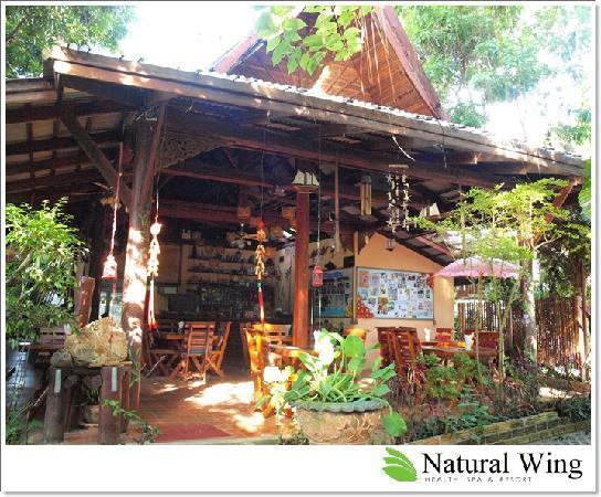 Natural Wing Health Spa & Resort: Restaurant @ Natural Wing