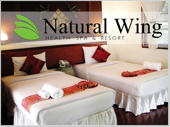 Natural Wing Health Spa & Resort: Twin in Villa