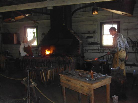 Black smiths at Fort Vancouver