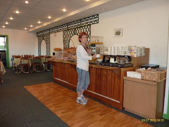 Hotel Gabriel : Breakfast buffet
