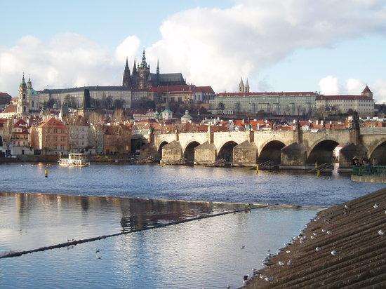 Euroways Tours Prague: Hradcany and Charles bridge in Prague.