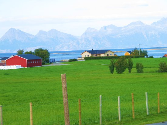 Bodo, Noruega: on bike ride on Kjerringoy