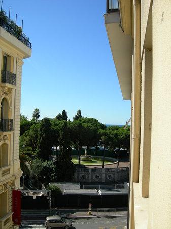 Hotel Paradis: Aussicht vom Balkon