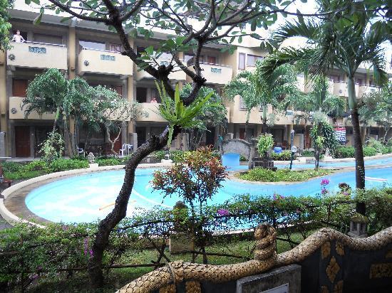 Melasti Legian Beach Resort & Spa: hotel section