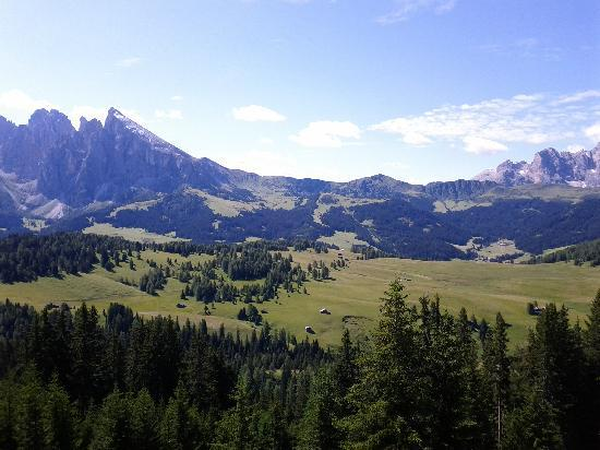 Cavallino Bianco Family Spa Grand Hotel: Alpe di Siusi