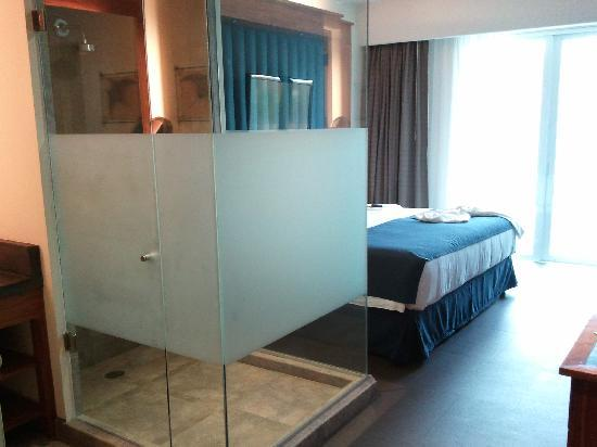 CostaBaja Resort & Spa: glass enclosed shower