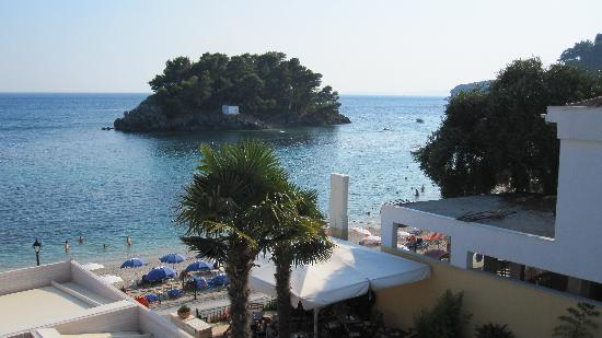 Hotel Sol Parga: View from balcony