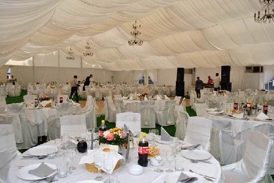 Vila Franka : Events tent with all facilities