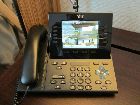Hotel ICON: Room phone
