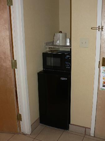Holiday Inn Hotel & Suites Albuquerque Airport - Univ Area : Microwave & fridge