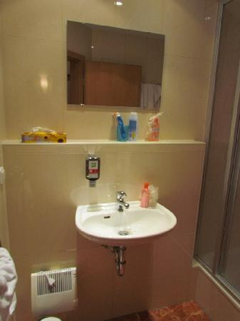 Ibis Styles Berlin Alexanderplatz: Bathroom