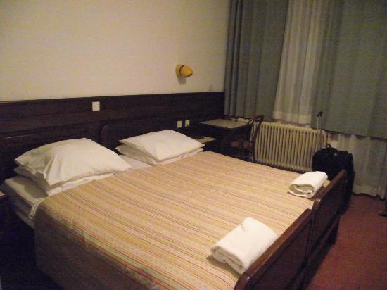 Most na Soci, Slovenien: hotel room