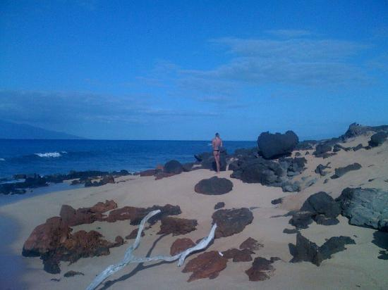 Lanai, HI: North end of Polihua beach