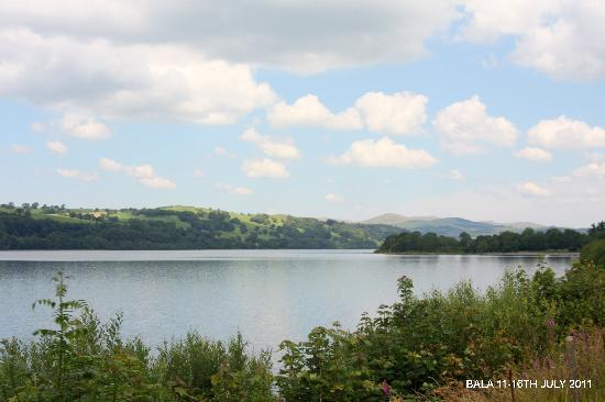 Cyffdy Farm Cottages : Bala Lake.