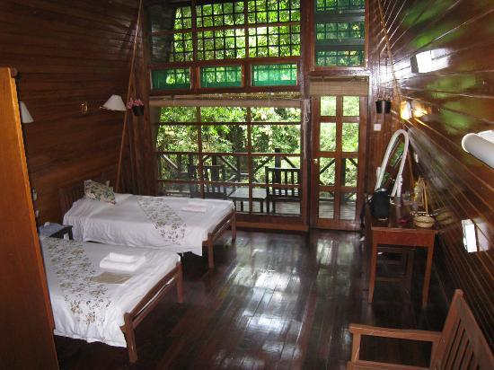 Tabin Wildlife Resort: River Lodge Häuschen
