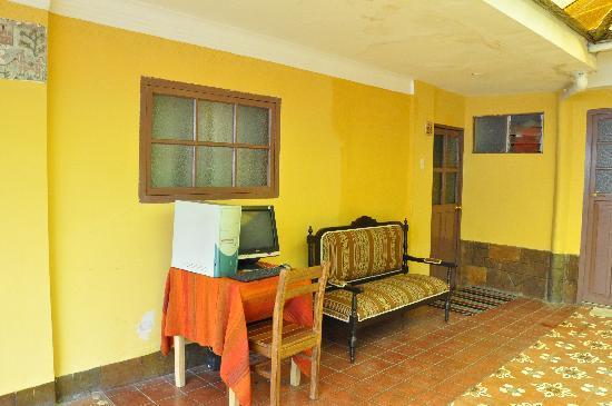 Hotel Sol Plaza Inn: free internet :)