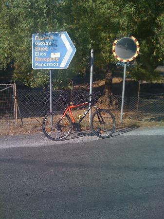 Skopelos Cycling : bike