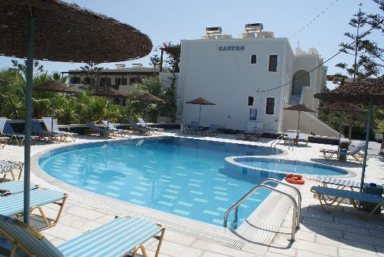Castro Hotel Kamari: The fantastic pool at Castro Hotel
