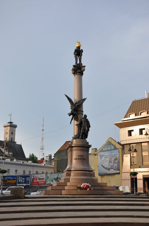 Lviv, Ucraina: Square