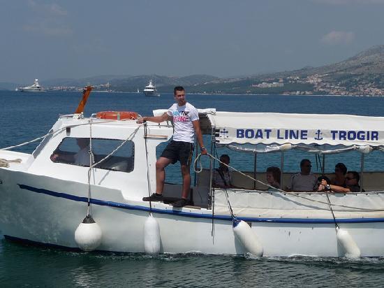 Villa Katarina: Boat ferry to Trogir