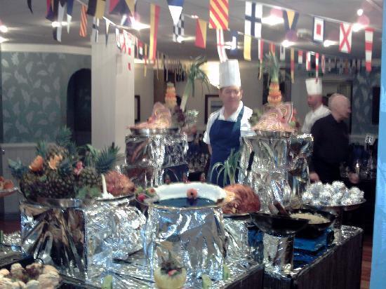Tynedale Hotel : the buffet