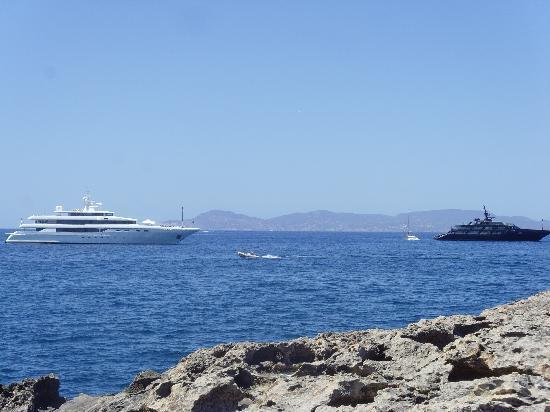 Playa de Ses Illetes: Ein Kaliber drunter:-)